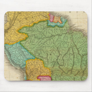 Map of South America 4 Mouse Pad