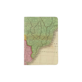 Map of South America 4 Passport Holder