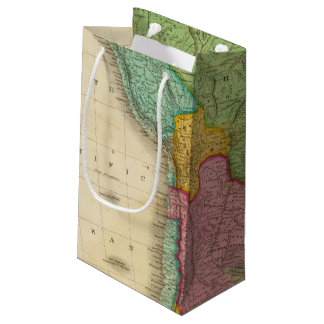 Map of South America 4 Small Gift Bag