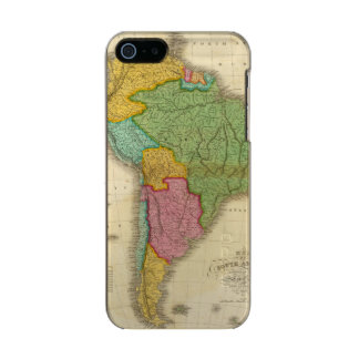 Map of South America 4 Incipio Feather® Shine iPhone 5 Case