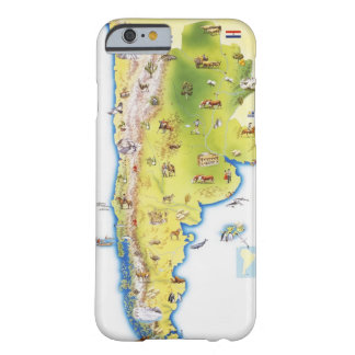 Map of South America Barely There iPhone 6 Case