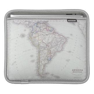 Map of South America iPad Sleeve