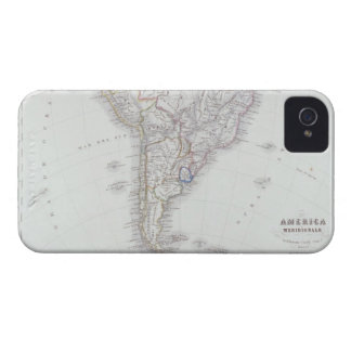 Map of South America iPhone 4 Case-Mate Case
