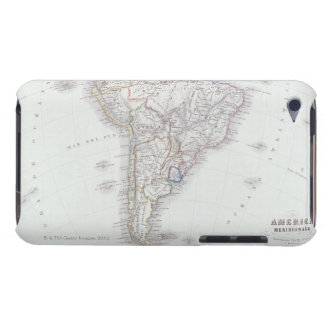 Map of South America iPod Touch Cases