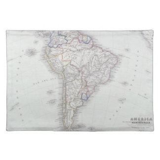 Map of South America Placemat