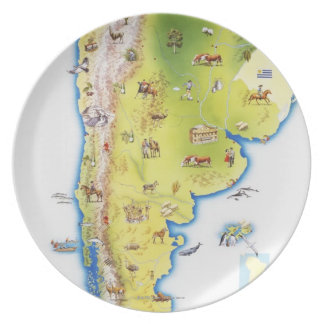 Map of South America Plate