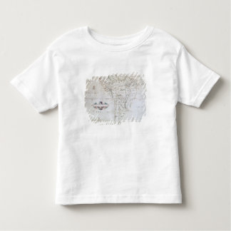 Map of South America Toddler T-Shirt