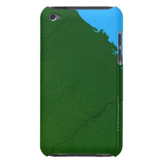 Map of South Carolina 2 iPod Case-Mate Cases