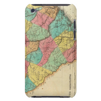 Map Of South Carolina Case-Mate iPod Touch Case