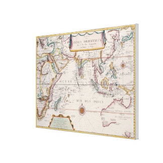 Map of South East Asia 2 Canvas Print