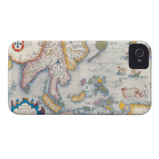 Map of South East Asia 2 Case-Mate iPhone 4 Cases