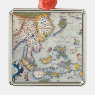 Map of South East Asia 2 Christmas Ornament