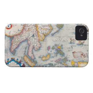 Map of South East Asia 2 iPhone 4 Cover