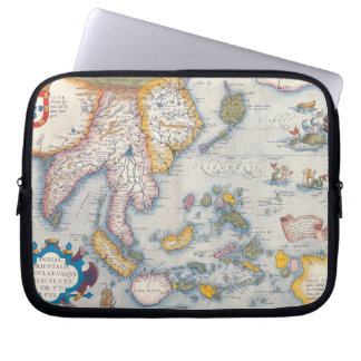 Map of South East Asia 2 Laptop Sleeve