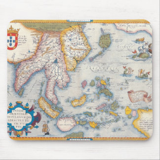 Map of South East Asia 2 Mouse Mat