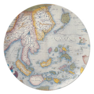 Map of South East Asia 2 Plate