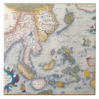 Map of South East Asia 2 Tile