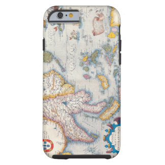 Map of South East Asia 2 Tough iPhone 6 Case