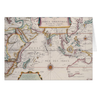 Map of South East Asia Card