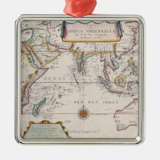 Map of South East Asia Christmas Ornament