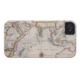 Map of South East Asia iPhone 4 Case-Mate Cases
