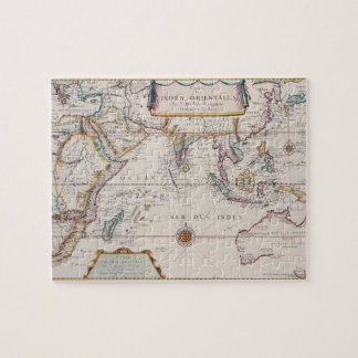 Map of South East Asia Jigsaw Puzzle