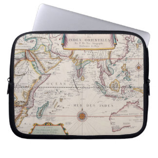 Map of South East Asia Laptop Sleeve