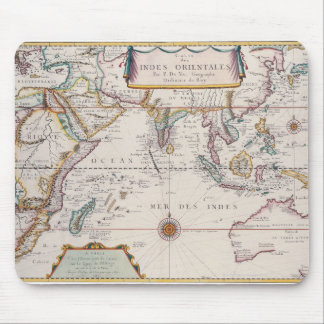 Map of South East Asia Mouse Mat