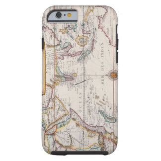 Map of South East Asia Tough iPhone 6 Case