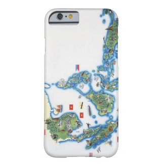 Map of southeastern Asia Barely There iPhone 6 Case