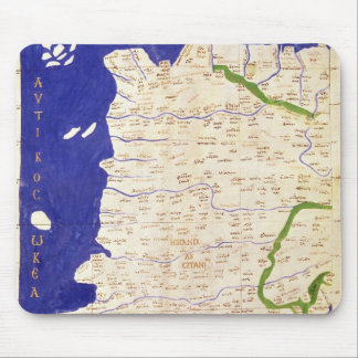 Map of Spain and Portugal, from 'Geographia' Mouse Mat