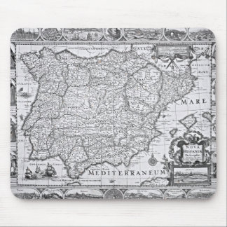 Map of Spain Mouse Mat