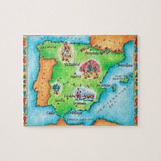 Map of Spain Puzzles