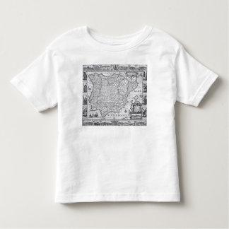 Map of Spain Toddler T-Shirt