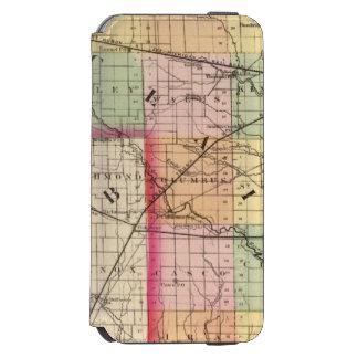 Map of St Clair County, Michigan Incipio Watson™ iPhone 6 Wallet Case