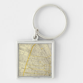 Map of St Louis City Key Ring