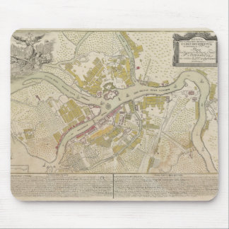 Map of St. Petersburg, Russia, created in 1737 Mouse Pad