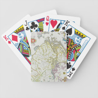 Map of Stockholm, Sweden Bicycle Playing Cards