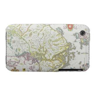 Map of Stockholm, Sweden iPhone 3 Case