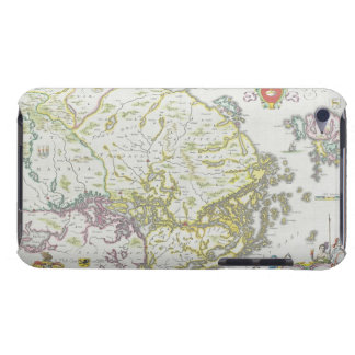 Map of Stockholm, Sweden iPod Case-Mate Cases