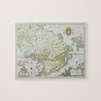 Map of Stockholm, Sweden Jigsaw Puzzle