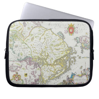 Map of Stockholm, Sweden Laptop Sleeve
