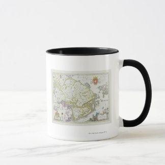 Map of Stockholm, Sweden Mug