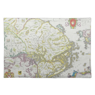 Map of Stockholm, Sweden Placemat