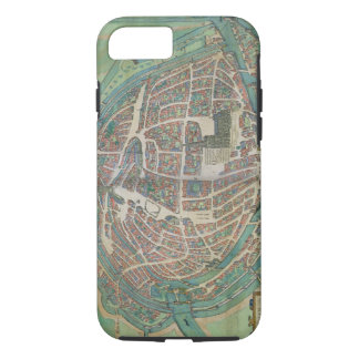 Map of Strasbourg, from 'Civitates Orbis Terrarum' iPhone 8/7 Case