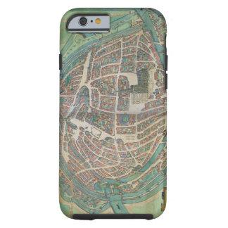 Map of Strasbourg, from 'Civitates Orbis Terrarum' Tough iPhone 6 Case