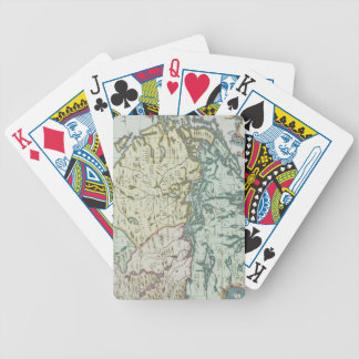 Map of Sweden Bicycle Playing Cards