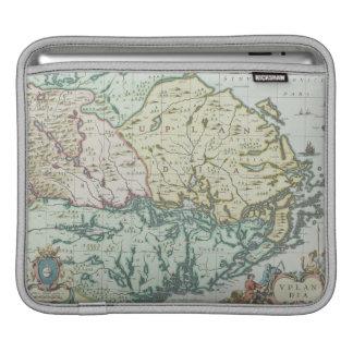 Map of Sweden iPad Sleeve
