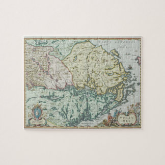 Map of Sweden Jigsaw Puzzle