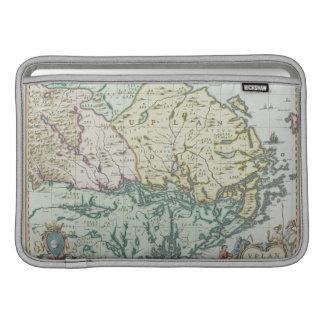 Map of Sweden MacBook Sleeve